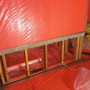asbestos removal project